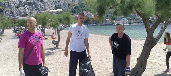 Eko akcija na gradskoj plaži