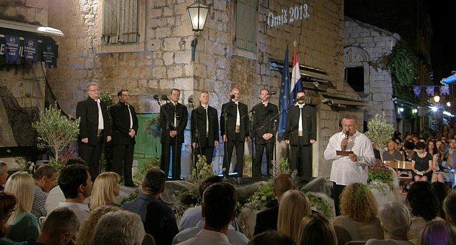 festival dalmatinskih klapa