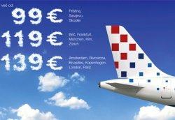 povećanje broja zrakoplovnih linija