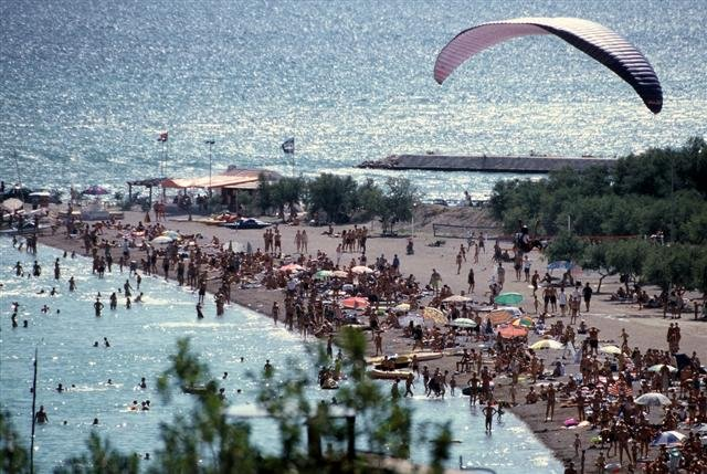 omiš. velika plaža