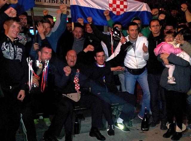 Tomislav i Zvonimir Čikotićc - braća, svjetski prvaci