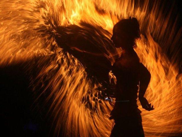 ples s vatrom