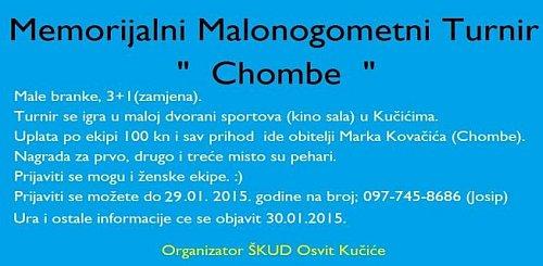 Zaigrajte nogomet i pomozite Chombeovu obitelj