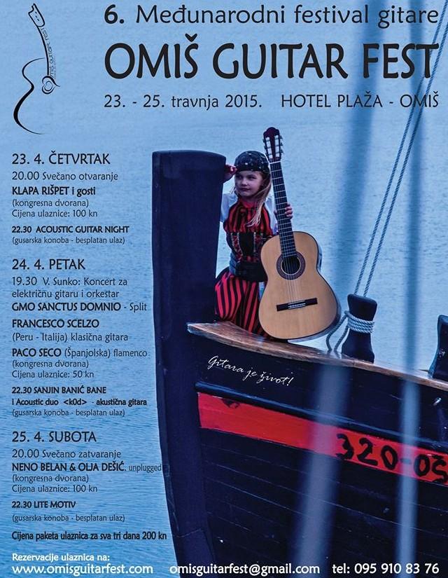 omiški Guitar fest