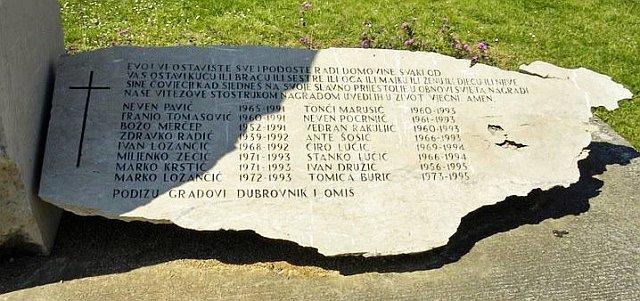 Spomenik našim palim braniteljima