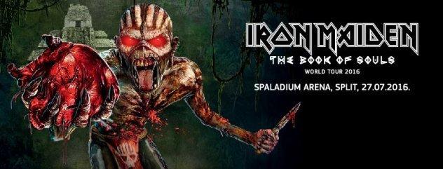 Iron Maiden opet u Splitu