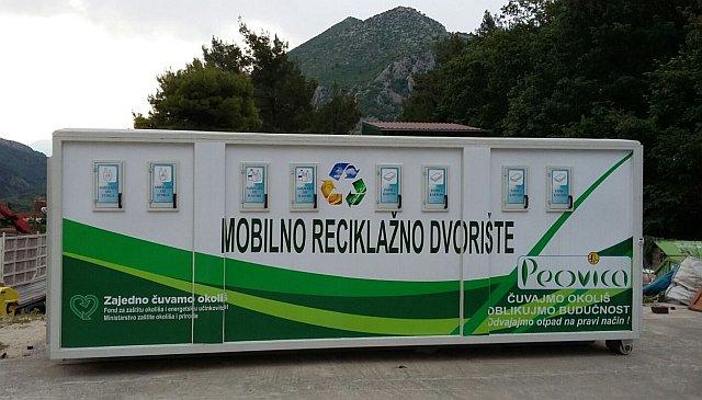 Mobilno reciklažno dvorište od utorka na prostoru pored Orkanovog igrališta