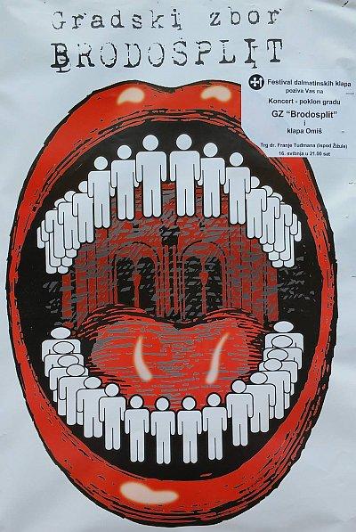 koncert splitskog Gradskog zbora Brodosplit