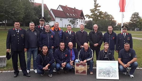 Dugoratski vatrogasci u posjetu bavarskim kolegama i prijateljima