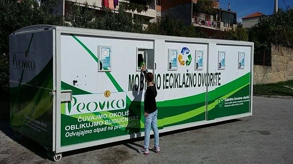 mobilno reciklažno dvorište - Peovica