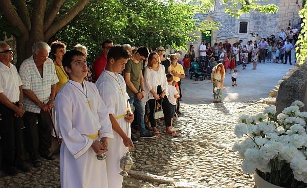 U Zeljovićima na proslavi blagdana svetog Ante