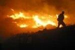 požar poviše Duća i Dugog Rata