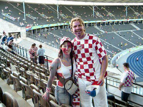 Rake i Stjepko na Olimpijskom stadionu u Berlinu
