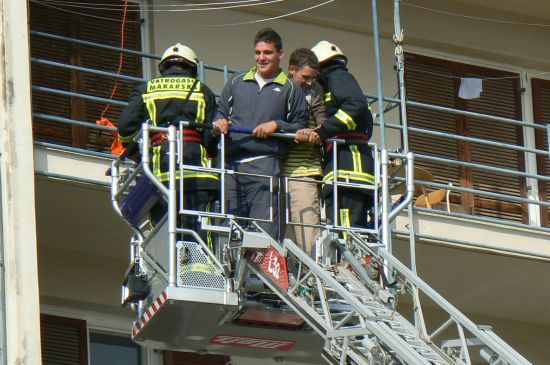 Pokazna vatrogasna vježba