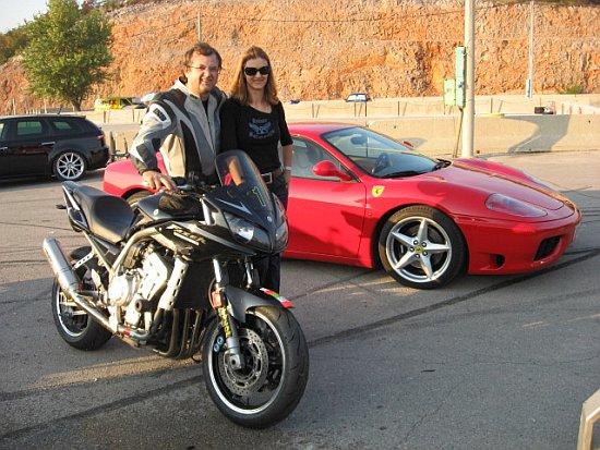 Biker Jojo i njegova Sandra