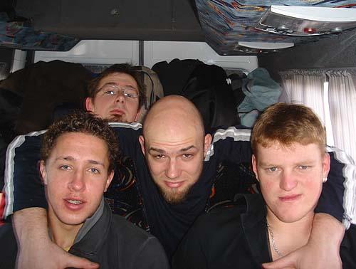 U autobusu