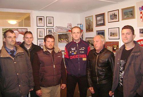 Članovi Inicijativnog odbora za osnivanje Kluba za daljinsko plivanje