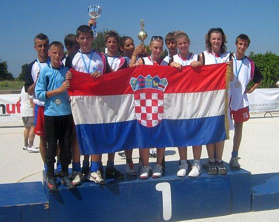 pioniri i kadeti NK Orkan najbolji balunjeri na Sportskim Igrama Mladih