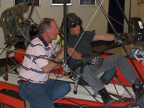 Motorni zmaj i Pilot Željko Ploh iz Orija