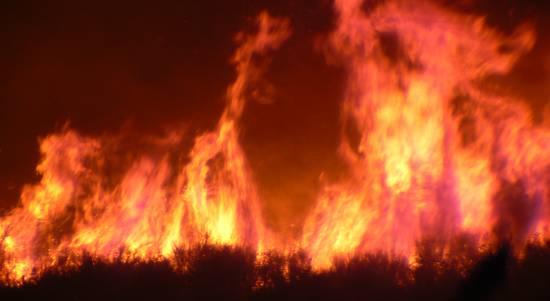 Požar u Dućama i Dugom Ratu