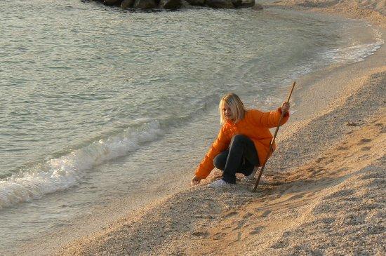 na dugoratskoj plaži