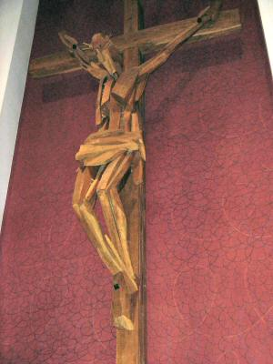 raspelo u dugoratskoj crkvi sv. josipa