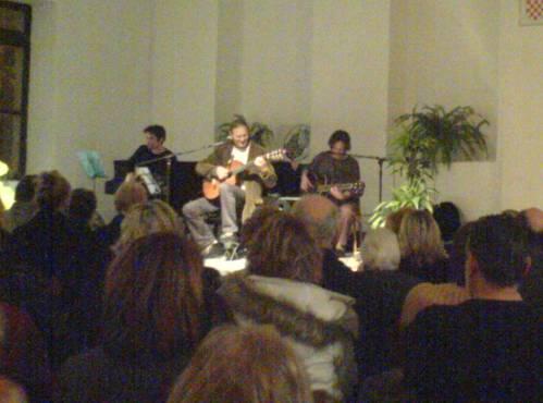 koncert Tedija Spalata u Ilirskom sjemeništu u Omišu