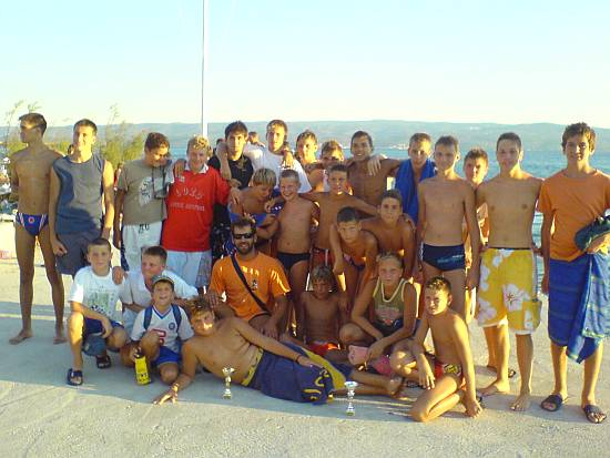 Vaterpolo turnir kadeta DUGI RAT 2007