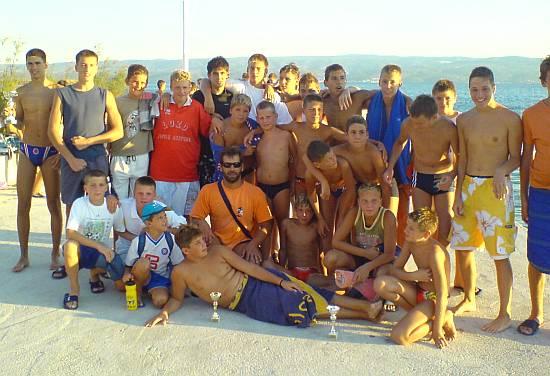 Korenat - Pobjednik dugoratskog vaterpolo turnira kadeta 2007