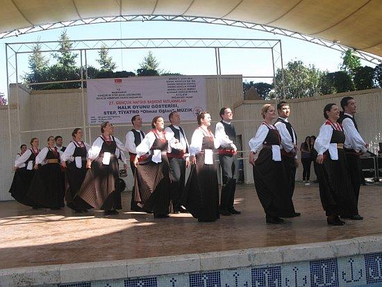 KUD Dalmacija na festivalu folklora u Ankari