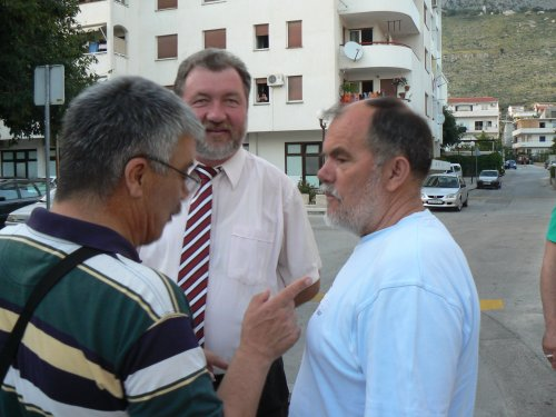 Jerko roglić, Srećko Zelić i Goran Tičić