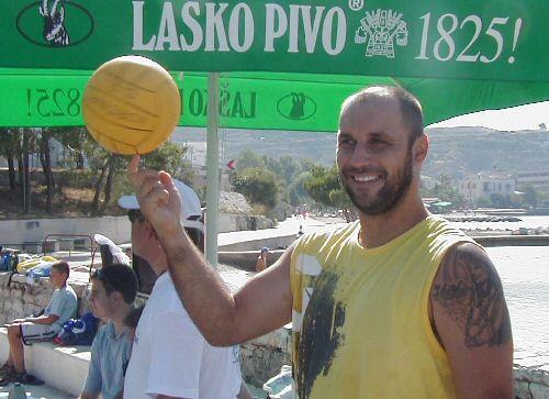 Dragan Sarač, golman vaterpolo kluba KORENAT
