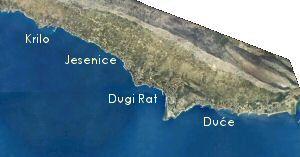 Klikni ovdje za prikaz karte Opcine Dugi Rat