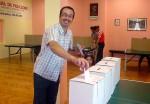 Jota na glasačkom mjestu