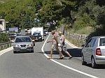 opasan prelazak ceste