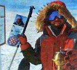 Robert Pauletić na Južnom polu