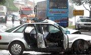 prometna nesreća u Suhom potoku / foto: Tino Jurić