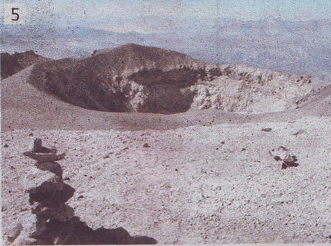 Krater vulkana El Misti