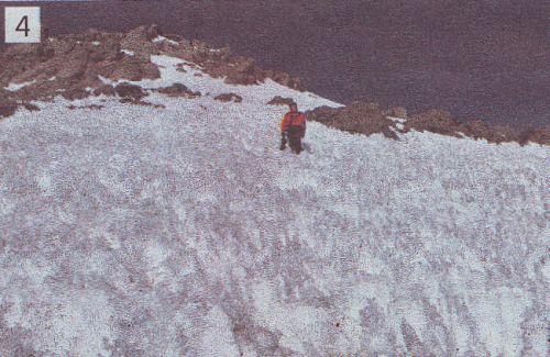Ledeni šiljci na Coropuni