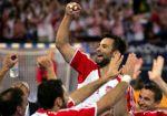 Ivano Balić u pobjedničkom slavlju nakon utakmice s SiCG ...