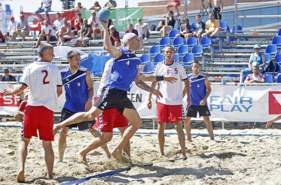 Reprezentacija Hrvatske u rukometu na pijesku