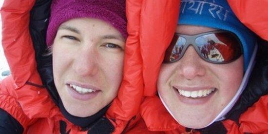 Darija i Iris Bostjančić,  prve Hrvatice koje su jse popele na najvišu točku na planeti, Mount Everestu.