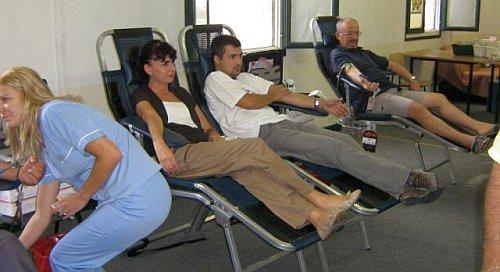 darivanje krvi u Omišu