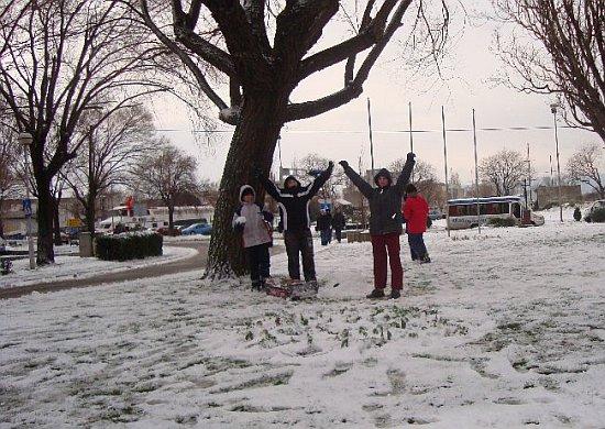 Štiklom na snig