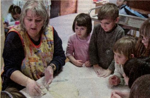 """Mališani dječjeg vrtića """"Galeb"""" iz Omiša kreatori su zdrave kuharice"""
