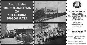 100 fotografija za 100 godina Dugog Rata