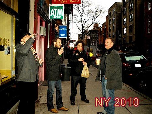 TBF i glumci u New Yorku