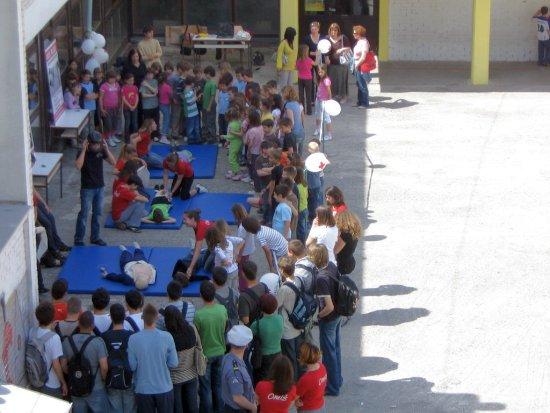 Pokazna vježba mladeži GDCK Omiš - Osnove pružanja prve pomoći