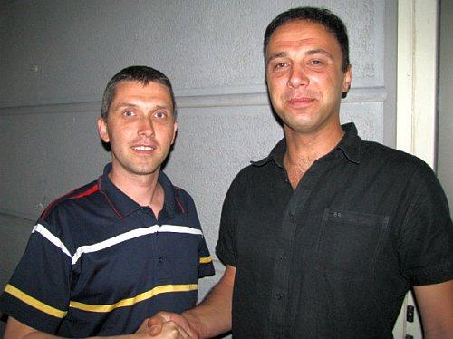 Joško Banović i Tomo Vojnović Gara
