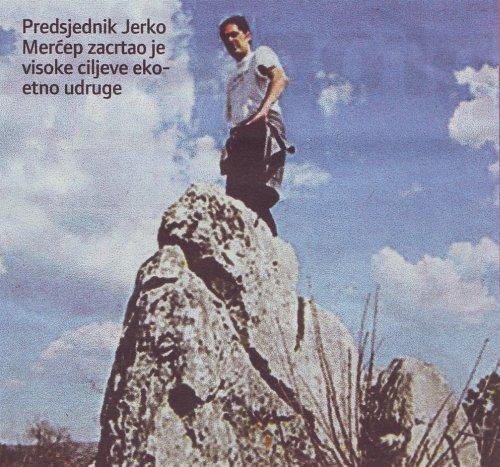 Jerko Merćep, čelnik ekoudruge 'Radobiljski vrisak'